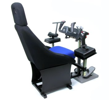 How to make a flight simulator chair